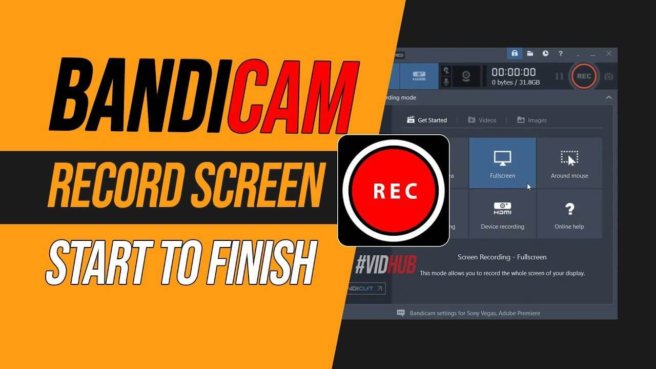 Bandicam Screen Recorder With Full Crack 2021