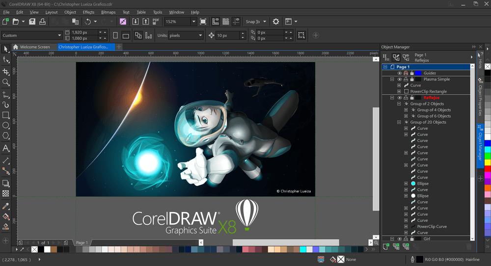 CorelDRAW Graphics Suite X7 Crack v22.2.0.532 Download [Full 2021]