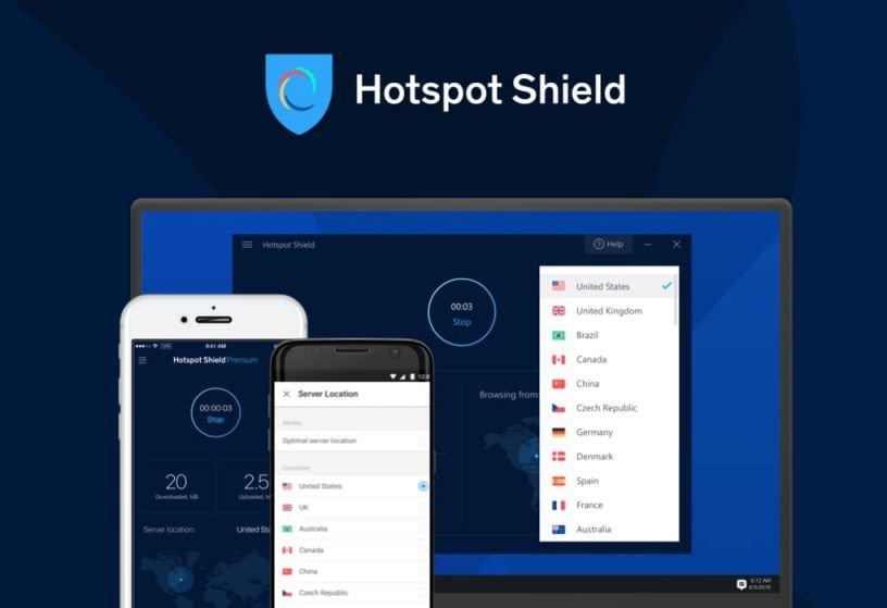 Hotspot Shield VPN 10.21.2 Crack + Keygen [2021]