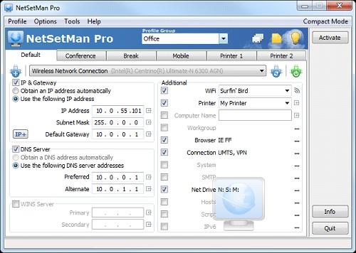 NetSetMan Pro 5.0.6 With Crack + Keygen