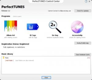 PerfectTUNES R3.3 v3.3.0.1 + Crack [ Latest Version ]