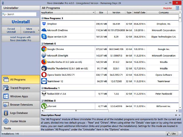 Revo Uninstaller Pro 4.4.2 Crack + License Key [Latest]