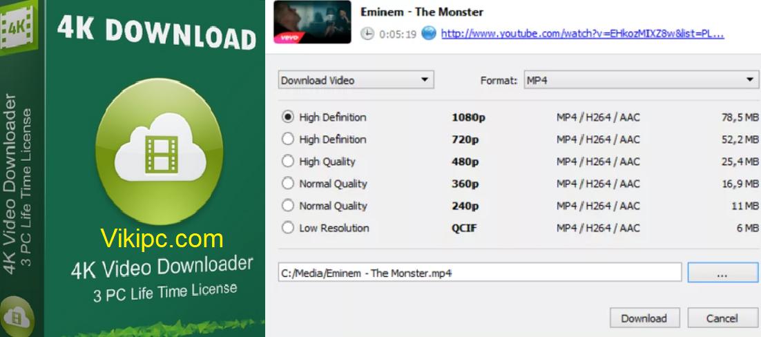 4k Video Downloader 4.16.3.4290 Activation Key Full + Crack 2021