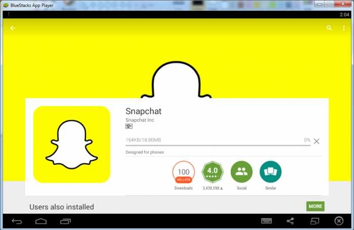 Download SnapChat for PC 2021