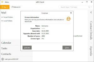 eM Client Pro 8.2.1509.0 Crack + Serial Key Full Download (100% Working)