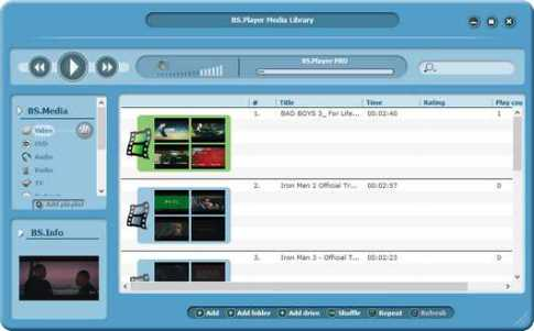 BS Player Pro 2.82 Build 1096 Patch + Serial Key Free Download 2021