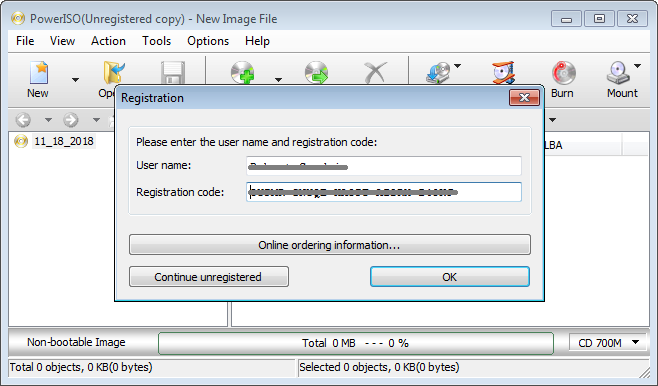 PowerISO Crack 8.0 Full Version With License Key [Latest]
