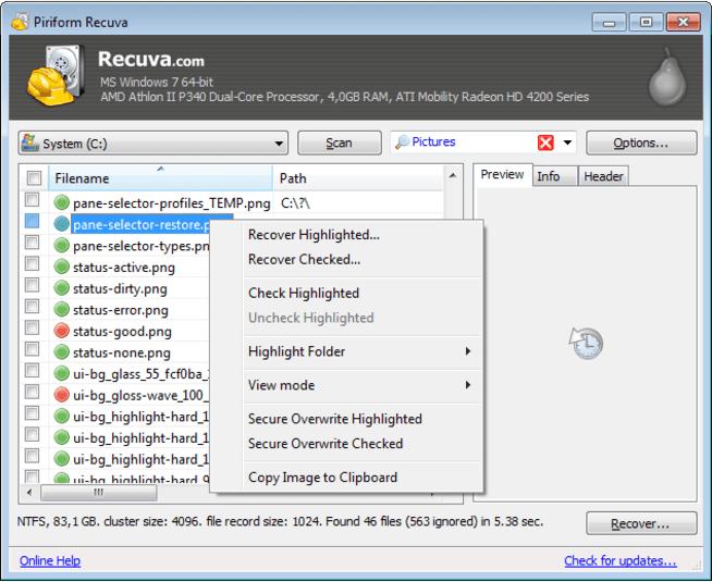 Recuva Pro Crack 1.53 Activator Crack [Keygen + Patch + Full] Download