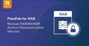 PassFab for RAR 9.5.0.5 Crack + Serial Key Free Download (2021)