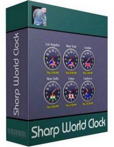 Sharp World Clock 9.3.5 Crack + License Key Free Download [2021] Latest