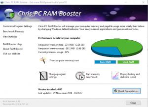 ChrisPC CPU Booster 1.20.20 Full Crack Patch Free Download