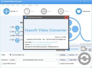 Faasoft Video Converter 5.4.23.6956 Full Crack + Keys Free Download